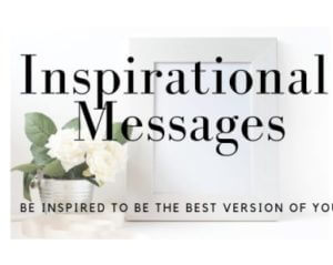 Reading Inspirational Messages