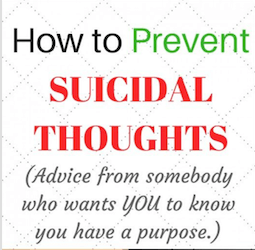 Overcoming Suicidal Thoughts By Hearing From Suicide Survivors